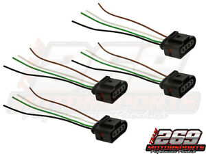 Ignition Coil Connector Repair Harness Plug Wiring Fits 4 Audi Vw Jetta Passat