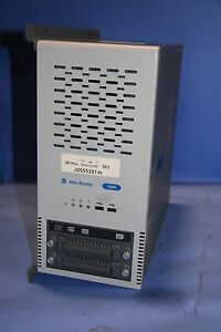 1 Used Allen Bradley 750 Computer With Windows Xp Pro Software