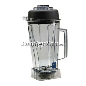 Vitamix 756 64oz 2 0l Container W Ice Blade Lid Plug