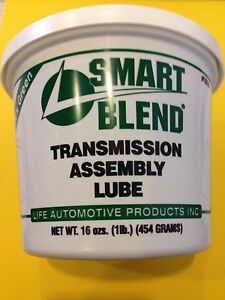 Life Automotive Trans Prep Transmission Assembly Lube Green Rebuild Gel 5250