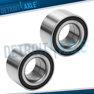 Front Press Wheel Bearing Set For 2006 2007 2008 2009 2010 2011 Honda Civic 1 8l