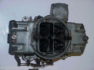 Vintage Holley Bb Chevy 780cfm Carburetor 3878261 Eh List 3310 Date Code 0a5