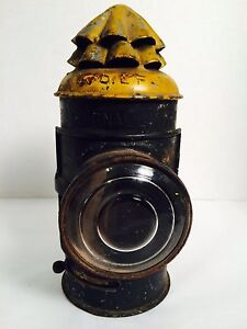 Early 1900s Boat Signal Nautical Lantern Oil Lighting 8 1 2 Plume