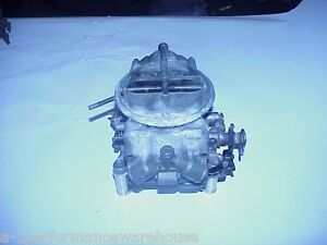 Vintage Holley Chevy 780 Cfm Carburetor 3878261 Eh List 3310 Date Code 161 Ss396