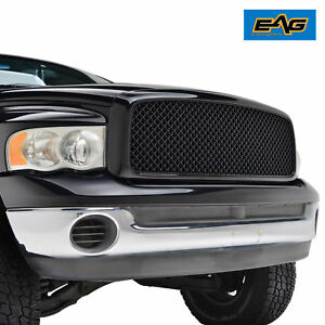 02 05 Dodge Ram 1500 03 05 Ram 2500 3500 Mesh Grille Abs Black Replacement