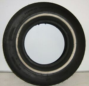 New Hercules Tire P225 75d15 Saftipreme White Wall New Old Stock 2257515