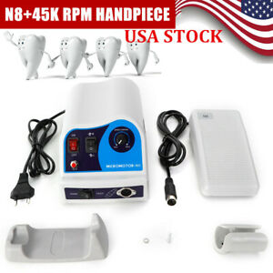 Dental Lab Marathon Electric Micromotor Polishing Unit N8 35k Rpm Handpiece Us
