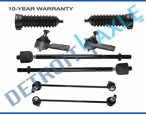 8pc 4 Tie Rods 2 Sway Bar 2 Boot 2000 2001 2002 2003 2004 2005 2006 Ford Focus