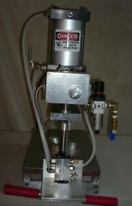 Brand New Inline Pie Press Includes Dies To Form Any Pie Shell Up To 8