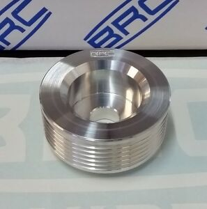 V6 Ecotec Power Alternator Billet Pulley 20 Oversize For Speedway High Revs
