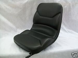 High Back Black Seat Bobcat S130 s150 s160 s175 s185 s205 s220 skid Steer on