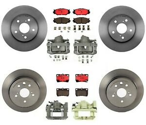 Complete Brake Kit Brembo Ceramic Pads rotors calipers For Lexus Is250 06 08