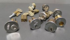 Corbin Russwin Sargent Falcon Cylinder Lock Lockset Core Lot Of 11
