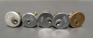 Corbin Russwin Cylinder Lock Lockset Door Key Long Spindle Lot Of 5