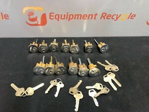 Corbin Russwin Cylinder Lock Lockset Door Gold Key Long Spindle New Lot Of 13