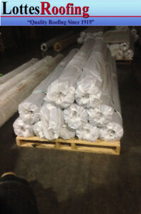 4 Rolls 25 X 100 Black Universal 45 Mil Epdm Rubber Roofing And Pond Liner