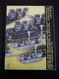 Ferrari Parts Catalog Faf Motor Car Book Prices_maserati Section_vintage