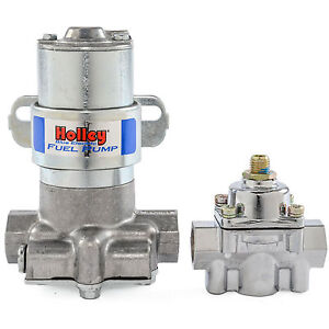 No Tax Holley 12 802 1 Blue Max Pressure Electric Fuel Pump Pressure Regulator