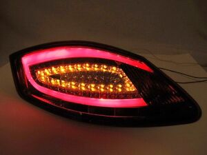 Porsche Boxster 987 Cayman Smoked 981 Style Led Tail Lights