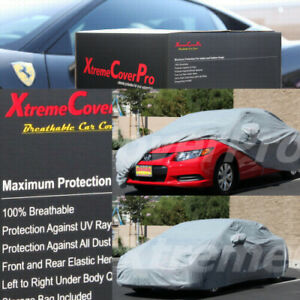 2013 Honda Civic Coupe Breathable Car Cover W mirrorpocket