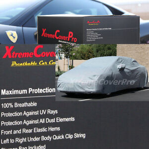 1999 2000 2001 2002 2003 Mazda Protege Breathable Car Cover W mirrorpocket