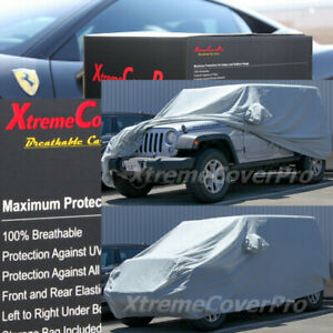 2007 2008 Jeep Wrangler 4 door Unlimited Breathable Car Cover W mirrorpocket