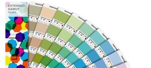 Pantone Extended Gamut Coated Guide Colours Simulated In 7 Colour Process