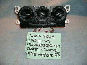 2007 2009 Mazda Cx7 Genuine Factory Oem Climate Control Tested Free Shipping