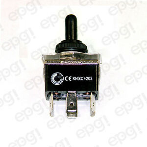 Toggle Switch Momentary Dpdt 6p C o on off on Spade W boot Cvr 661951 665001