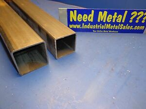 Steel Telescoping Square Tube Combo 2 1 2 And 2 1 4 X 24 long X 105 Wall