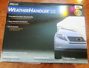 Car Cover Light Grey Pilot Automotive Weather Handler Iii Small Cc 6111s New 55