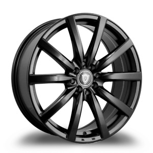 17 Inch G Line Satin Black 0013 Wheel Rims Tires 4 X 100
