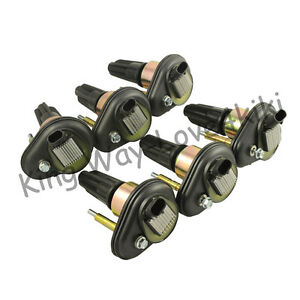 New Ignition Coil Pack For 2002 2005 Chevy Trailblazer Gmc Canyon Envoy H3 6pcs