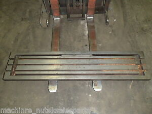 59 X 13 Steel Welding T slotted Table Cast Iron Layout Plate T slot Weld Jig