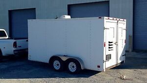Detroit 2006 62kw Generator With Towable Trailer