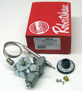 4290 006 Robertshaw Commercial Gas Fryer Oven Thermostat 46 1017 P5047590 Pitco