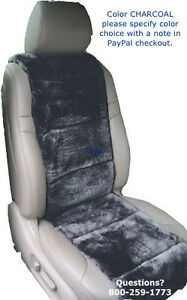 Sheepskin Seat Covers 2 Seat Vest Inserts Super Plush Finest Quality 4 Colors