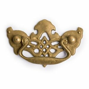 Cbh Falcon Mask Chinese Brass Hardware Handle Pulls Set Of 2
