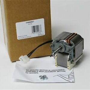 S99080667 Genuine Broan Range Hood Vent Fan Motor 99080532 99080667