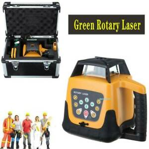 500m Green Beam Automatic Laser Level Rotary Rotating 360 Self leveling Tool