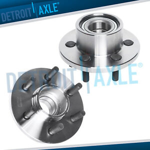 2wd For Dodge Dakota Durango Rear Wheel Abs Pair Of Front Wheel Bearing Hub