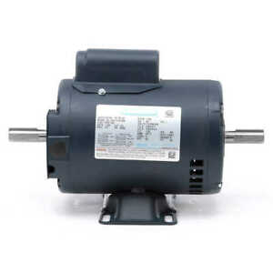 1 2 Hp 1725 Rpm 56z 115 208 230v Double Shafted Power Tool Motor Leeson 101781