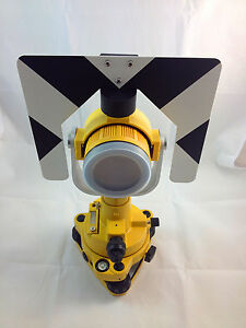 New Single Prism Tribrach Set System For Topcon Total Stations Surveying