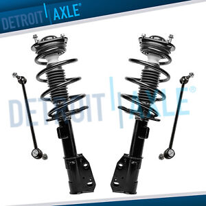 Front Struts Sway Bar Links 4pc 2009 16 Chevy Traverse Gmc Acadia Buick Enclave