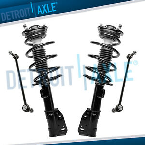 4pc Chevy Traverse Gmc Acadia Buick Enclave Outlook 2 Front Quick Struts