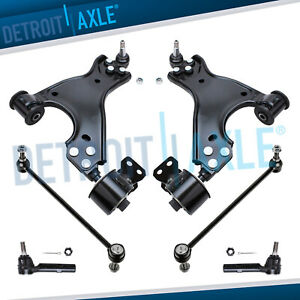 6pc Kit Lower Control Arms For Gmc Acadia Chevy Traverse Buick Enclave 3 6l