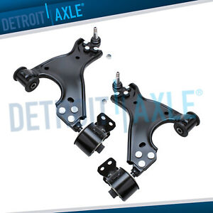 Chevy Traverse Gmc Acadia Buick Enclave 2 Front Lower Control Arm Ball Joint Set