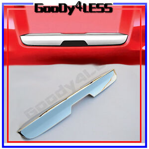 For 15 18 Chevy Tahoe Suburban Chrome Tailgate Hatch Trunk Trim Handle Cover