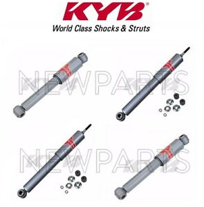 Kyb Set Of 2 Front 2 Rear Shocks For Suzuki Samurai 1986 1995 Kg4006 Kg4616