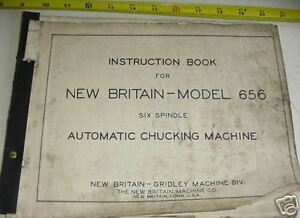 New Britain Gridley 656 Automatic Six Spindle Chucker